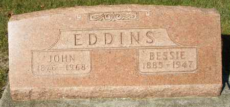 EDDINS, BESSIE - Darke County, Ohio | BESSIE EDDINS - Ohio Gravestone Photos