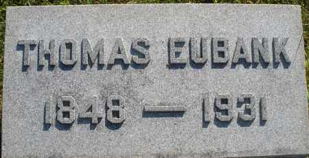 EUBANK, THOMAS - Darke County, Ohio | THOMAS EUBANK - Ohio Gravestone Photos