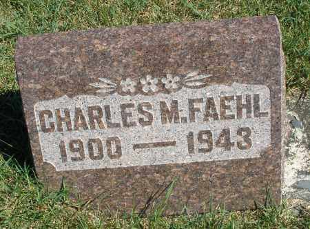 FAEHL, CHARLES M. - Darke County, Ohio | CHARLES M. FAEHL - Ohio Gravestone Photos