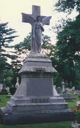 FENNE, HEADSTONE - Darke County, Ohio | HEADSTONE FENNE - Ohio Gravestone Photos