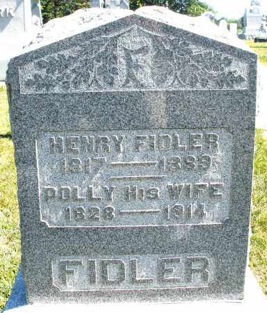 FIDLER, HENRY - Darke County, Ohio | HENRY FIDLER - Ohio Gravestone Photos