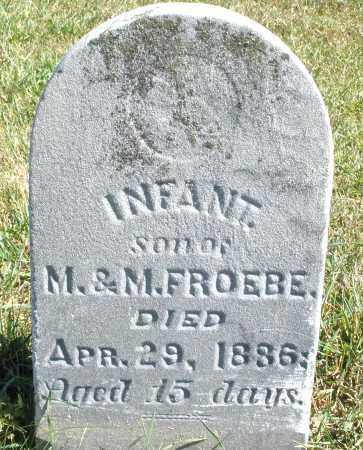 FROEBE, INFANT SON - Darke County, Ohio | INFANT SON FROEBE - Ohio Gravestone Photos