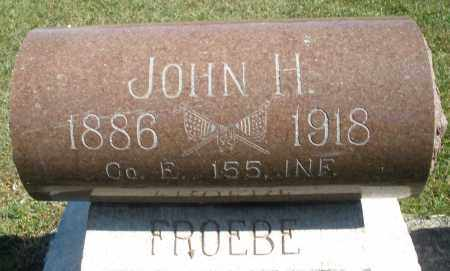 FROEBE, JOHN H. - Darke County, Ohio | JOHN H. FROEBE - Ohio Gravestone Photos