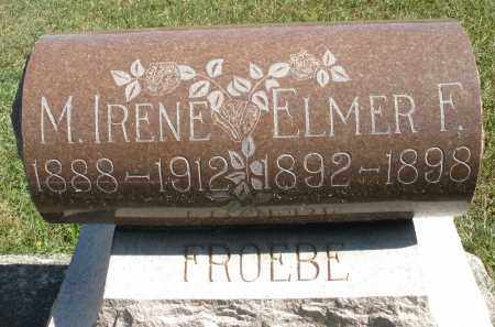 FROEBE, ELMER F. - Darke County, Ohio | ELMER F. FROEBE - Ohio Gravestone Photos