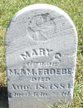 FROEBE, MARY - Darke County, Ohio | MARY FROEBE - Ohio Gravestone Photos