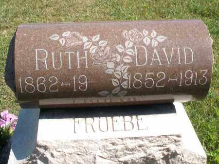 FROEBE, DAVID - Darke County, Ohio | DAVID FROEBE - Ohio Gravestone Photos