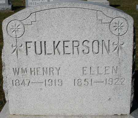 FULKERSON, WILLIAM HENRY - Darke County, Ohio | WILLIAM HENRY FULKERSON - Ohio Gravestone Photos