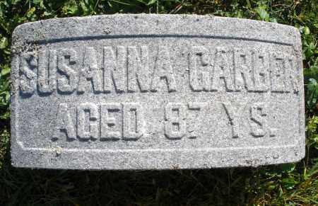 GARBER, SUSANNA - Darke County, Ohio | SUSANNA GARBER - Ohio Gravestone Photos