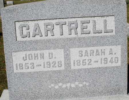 GARTRELL, JOHN D. - Darke County, Ohio | JOHN D. GARTRELL - Ohio Gravestone Photos