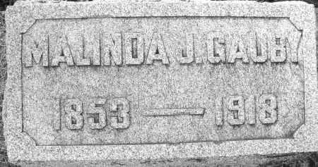 GAUBY, MALINDA J. - Darke County, Ohio | MALINDA J. GAUBY - Ohio Gravestone Photos