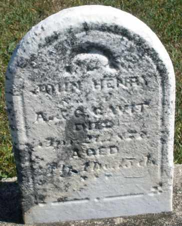 GAVIT, JOHN HENRY - Darke County, Ohio | JOHN HENRY GAVIT - Ohio Gravestone Photos