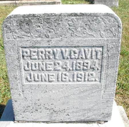 GAVIT, PERRY V. - Darke County, Ohio | PERRY V. GAVIT - Ohio Gravestone Photos