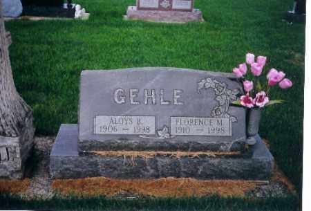 GEHLE, ALOYS B. - Darke County, Ohio | ALOYS B. GEHLE - Ohio Gravestone Photos