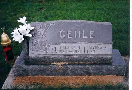 GEHLE, MYRNA A. - Darke County, Ohio | MYRNA A. GEHLE - Ohio Gravestone Photos