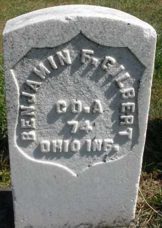 GILBERT, BENJAMIN F. - Darke County, Ohio   BENJAMIN F. GILBERT - Ohio Gravestone Photos
