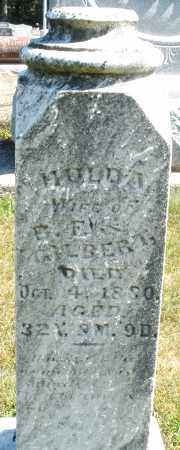 GILBERT, HULDA - Darke County, Ohio | HULDA GILBERT - Ohio Gravestone Photos