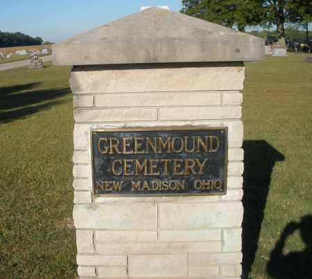 GREENMOUND, CEMETERY - Darke County, Ohio | CEMETERY GREENMOUND - Ohio Gravestone Photos