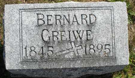 GREIWE, BERNARD - Darke County, Ohio | BERNARD GREIWE - Ohio Gravestone Photos