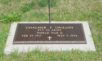 GRILLOT, CHALMER T. - Darke County, Ohio | CHALMER T. GRILLOT - Ohio Gravestone Photos