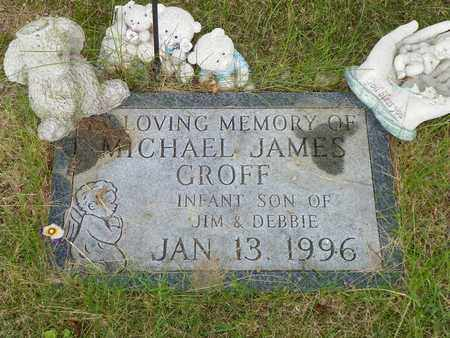 GROFF, MICHAEL JAMES - Darke County, Ohio | MICHAEL JAMES GROFF - Ohio Gravestone Photos