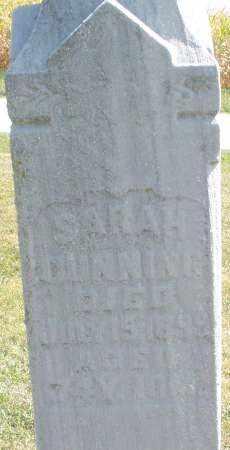 GUNNING, SARAH - Darke County, Ohio | SARAH GUNNING - Ohio Gravestone Photos