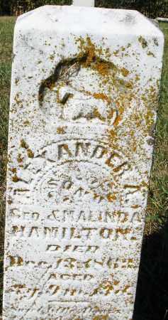 HAMILTON, ALEXANDER - Darke County, Ohio | ALEXANDER HAMILTON - Ohio Gravestone Photos