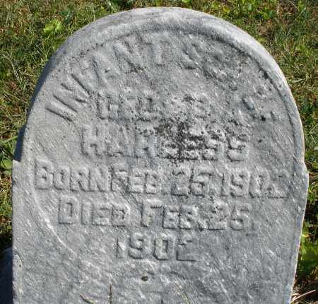 HARNESS, INFANT SON - Darke County, Ohio | INFANT SON HARNESS - Ohio Gravestone Photos