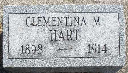 HART, CLEMENTINA M. - Darke County, Ohio | CLEMENTINA M. HART - Ohio Gravestone Photos