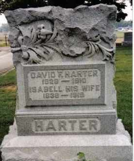 HARTER, ISABELL - Darke County, Ohio | ISABELL HARTER - Ohio Gravestone Photos