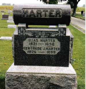 HARTER, ELIAS - Darke County, Ohio | ELIAS HARTER - Ohio Gravestone Photos