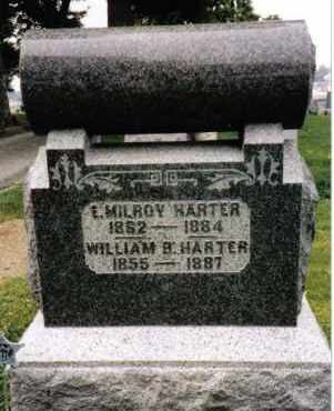 HARTER, WILLIAM B. - Darke County, Ohio | WILLIAM B. HARTER - Ohio Gravestone Photos