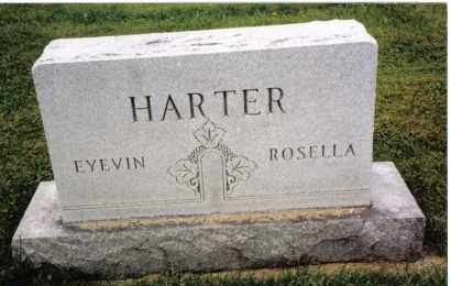 HARTER, ROSELLA - Darke County, Ohio | ROSELLA HARTER - Ohio Gravestone Photos