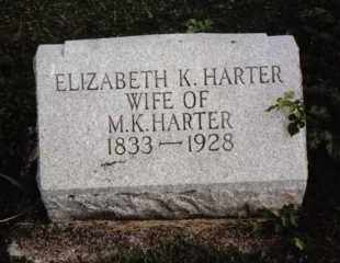 HARTER, ELIZABETH - Darke County, Ohio | ELIZABETH HARTER - Ohio Gravestone Photos