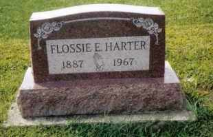 HARTER, FLOSSIE - Darke County, Ohio | FLOSSIE HARTER - Ohio Gravestone Photos