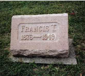 HARTER, FRANCIS T. - Darke County, Ohio | FRANCIS T. HARTER - Ohio Gravestone Photos