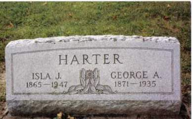 HARTER, ISLA J. - Darke County, Ohio | ISLA J. HARTER - Ohio Gravestone Photos