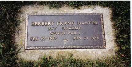 HARTER, HERBERT FRANK - Darke County, Ohio | HERBERT FRANK HARTER - Ohio Gravestone Photos