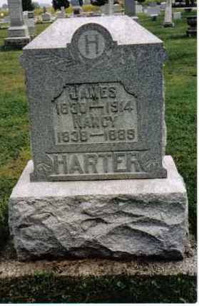 HARTER, JAMES - Darke County, Ohio | JAMES HARTER - Ohio Gravestone Photos