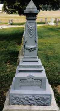HARTER, LEWIS - Darke County, Ohio | LEWIS HARTER - Ohio Gravestone Photos