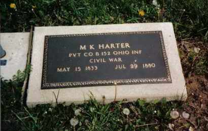 HARTER, M. K. - Darke County, Ohio | M. K. HARTER - Ohio Gravestone Photos