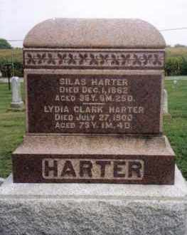 HARTER, SILAS - Darke County, Ohio | SILAS HARTER - Ohio Gravestone Photos