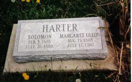 HARTER, SOLOMON - Darke County, Ohio | SOLOMON HARTER - Ohio Gravestone Photos