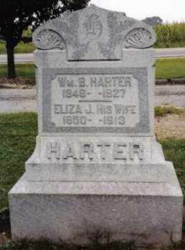 HARTER, WM. B - Darke County, Ohio | WM. B HARTER - Ohio Gravestone Photos