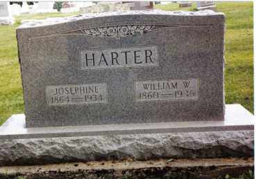 HARTER, WILLIAM W. - Darke County, Ohio | WILLIAM W. HARTER - Ohio Gravestone Photos