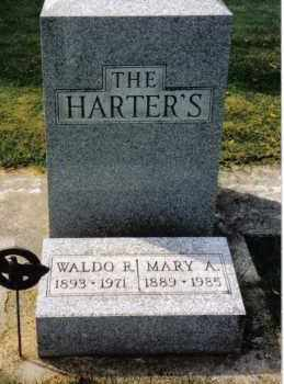 HARTER, MARY A. - Darke County, Ohio | MARY A. HARTER - Ohio Gravestone Photos