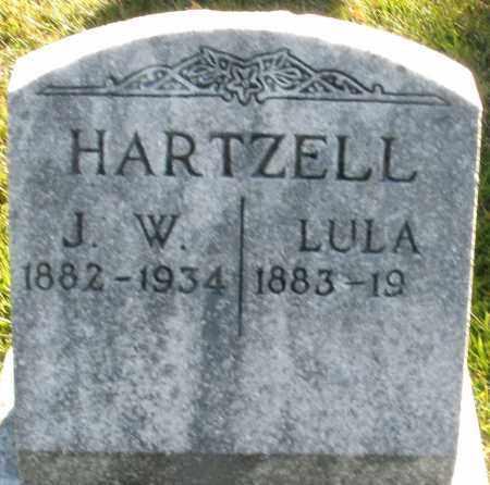 HARTZELL, LULA - Darke County, Ohio | LULA HARTZELL - Ohio Gravestone Photos