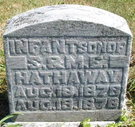 HATHAWAY, INFANT SON - Darke County, Ohio | INFANT SON HATHAWAY - Ohio Gravestone Photos