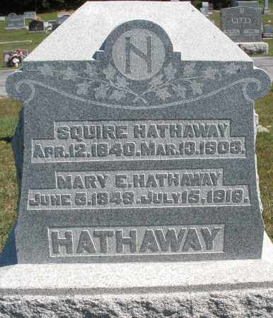 HATHAWAY, MARY E. - Darke County, Ohio | MARY E. HATHAWAY - Ohio Gravestone Photos