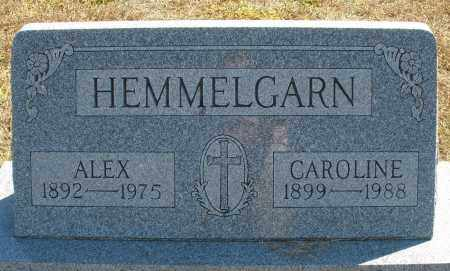 HEMMELGARN, ALEX - Darke County, Ohio | ALEX HEMMELGARN - Ohio Gravestone Photos