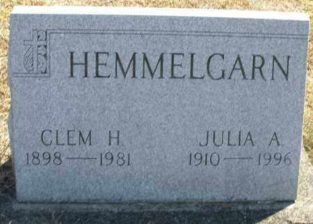 HEMMELGARN, JULIA A. - Darke County, Ohio | JULIA A. HEMMELGARN - Ohio Gravestone Photos